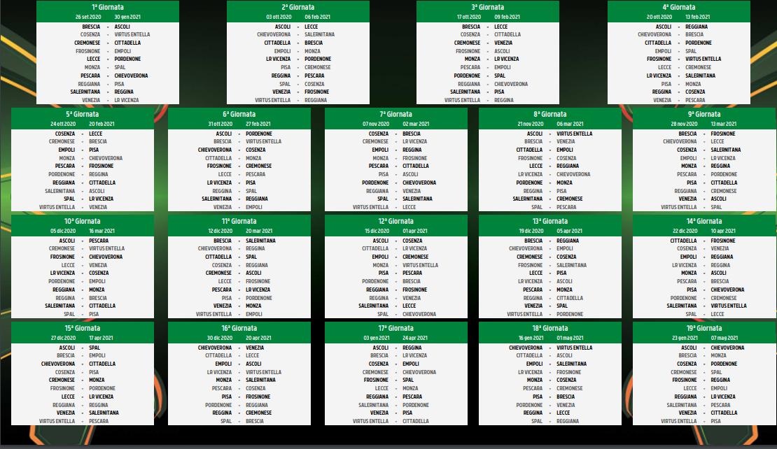 Ecco il calendario della Serie B: Chievo, prima a Pescara | L'Arena