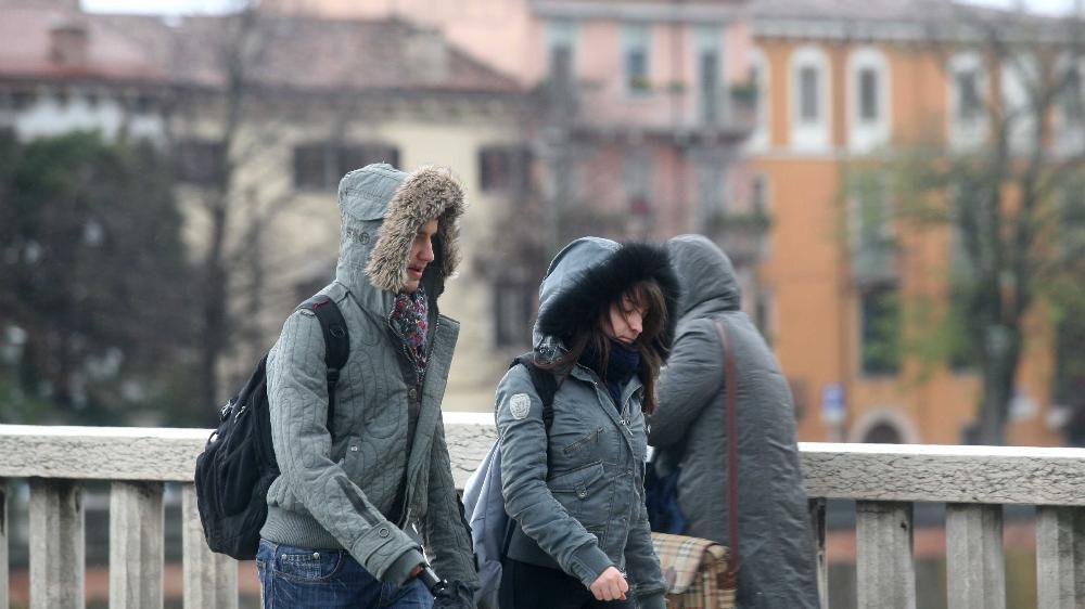 Il generale inverno attacca verona in arrivo grande - Distanza tra stazione porta nuova e arena di verona ...