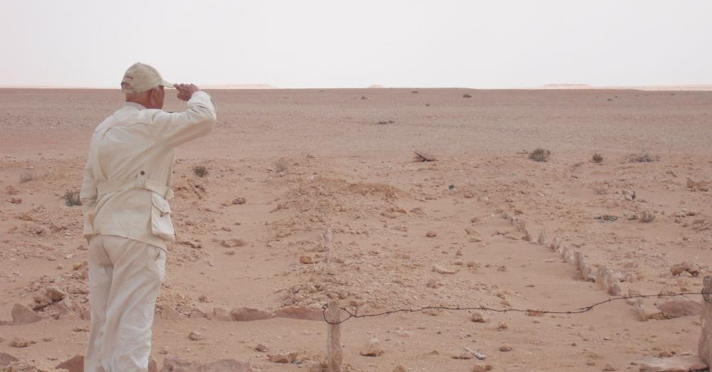 Sotto la sabbia di el alamein le ultime ore di vita dei for Setacciavano la sabbia dei fiumi