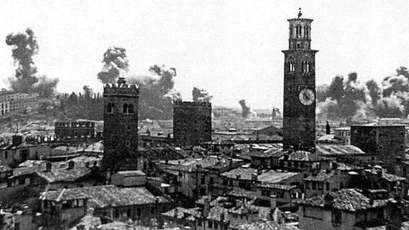 Bersaglio strategico per le bombe alleate home l 39 arena - Distanza tra stazione porta nuova e arena di verona ...