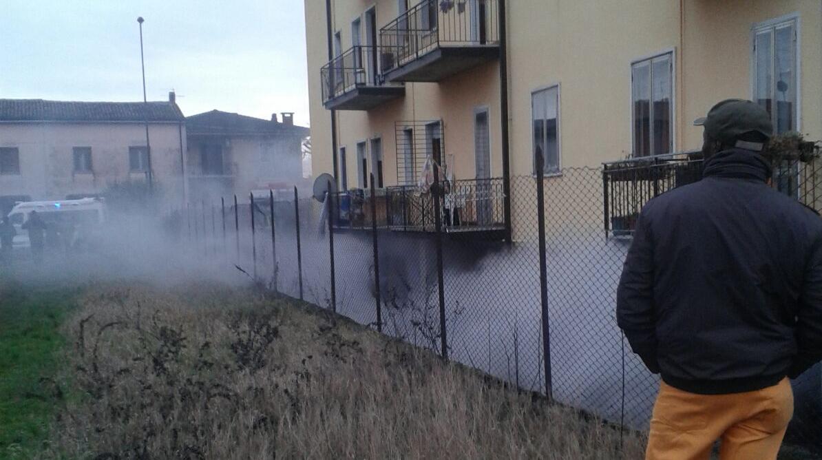 Incendio in un garage di pizzoletta villafranchese l 39 arena for Aggiunta di garage ranch rialzato