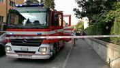 Scoppio in via Calatafimi (video Dienne)