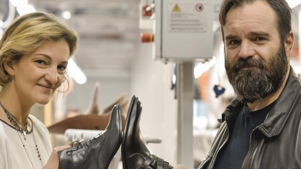 online store 09e6a 7d84c Maritan riporta in Italia la produzione di scarpe   Aziende
