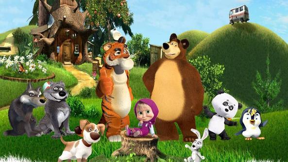 «masha e orso il cartoon russo diventa un musical