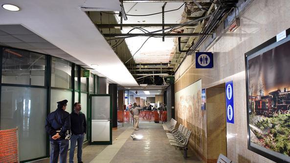 Crollo in stazione resta la paura parte del corridoio - Distanza tra stazione porta nuova e arena di verona ...