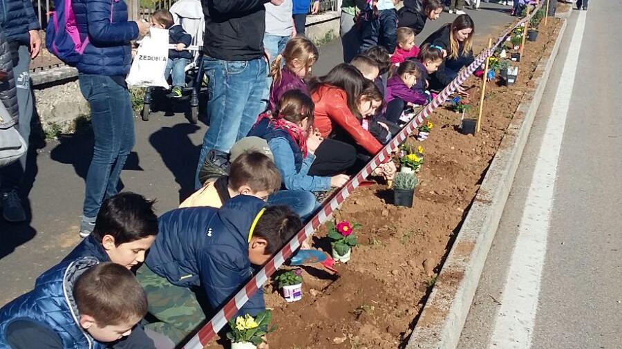 Festa degli alberi bimbi giardinieri per un giorno for Giardinieri verona