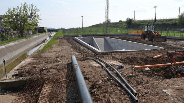 Una vasca dissabbiatrice per l impianto di irrigazione for Progettare l impianto di irrigazione