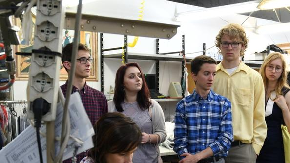Dall america alle sartorie rare in visita gli universitari for Indirizzi universitari moda
