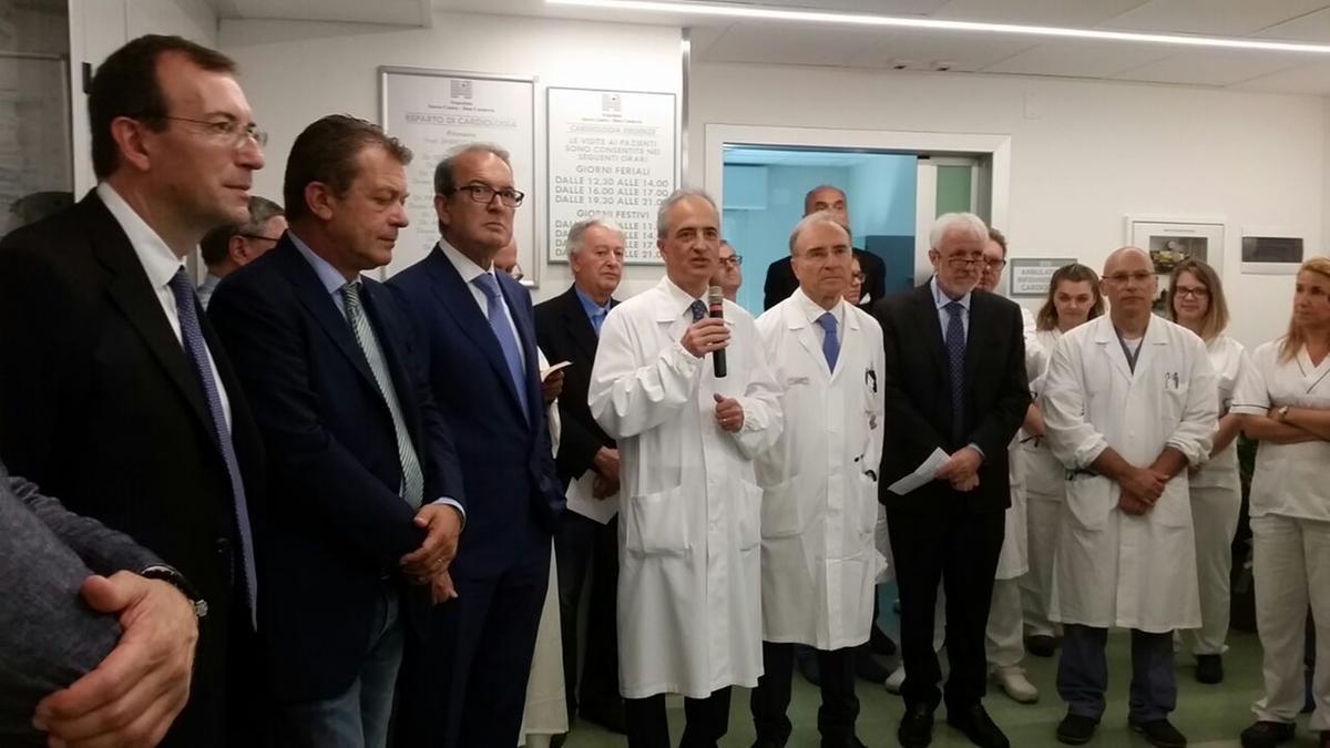 Negrar, inaugurato il nuovo reparto di cardiologia - L ...