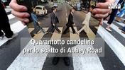 Quarantotto candeline per lo scatto di Abbey Road