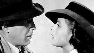 Humprey Bogart e Ingrid Bergman in Casablanca