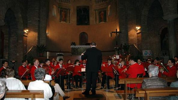 Un concerto della New Sambo big band