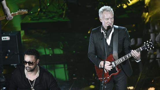 Sting ieri sera all'Ariston