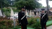 I carabinieri all'Altomincio Family Park