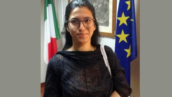 Farah all'ambasciata italiana pakistana