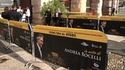La costruzione del red carpet (video Brusati)