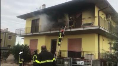 Il principio d'incendio (video Mirandola)