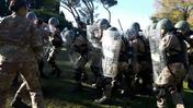 Militari sui bastioni (video Marchiori)