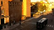 Castelvecchio visto dalla webcam