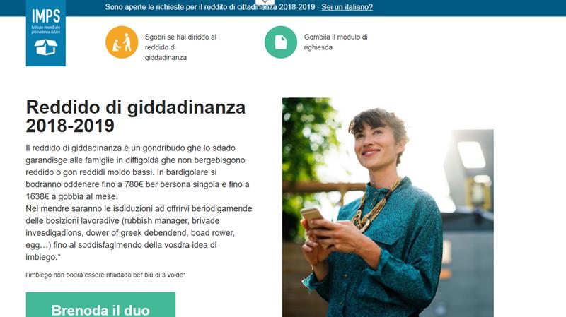 Reddito Di Cittadinanza Il Sito Bufala Inganna Anche 500 Veronesi Citta