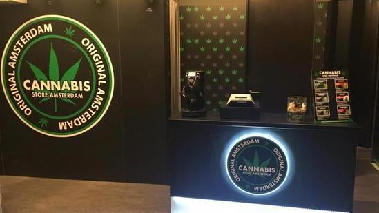 Un cannabis store
