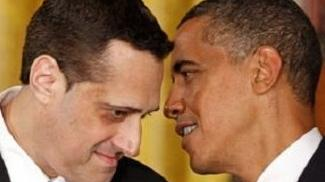 Stuart Milk con Barack Obama