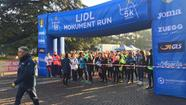 La partenza della Lidl Monument Run (Perlini)