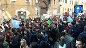 Manifestazione studenti (Video Marchiori)