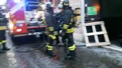 Allarme incendio all'Unieuro (Marchiori)