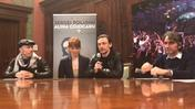 Sergei Polunin conferenza stampa (video Brusati) seconda parte