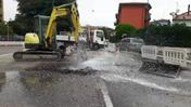 Geyser in via Tombetta (Marchiori)