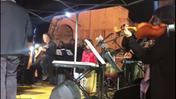 Orchestra Mosaika in piazza San Zeno (video Brusati)