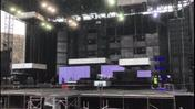 Mengoni in Arena, i preparativi (video Brusati)