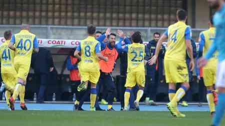 Vignato porta avanti i suoi al 28°; Chievo-Benevento 1-0.