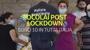 Dove sono i 10 focolai post lockdown in Italia