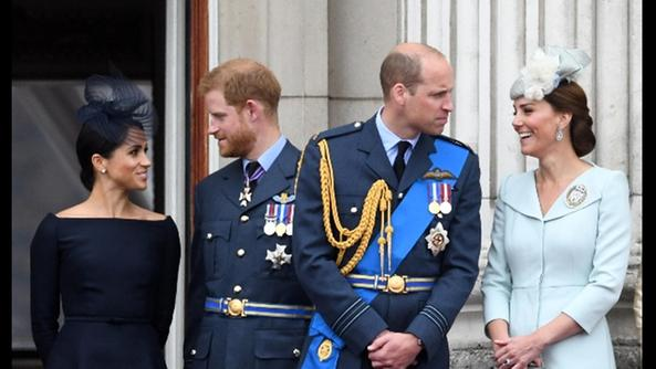 Meghan ed Harry, William con Kate
