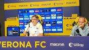 La conferenza stampa di Juric (Fotoexpress)