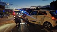Incidente auto-moto a Legnago (Dienne)